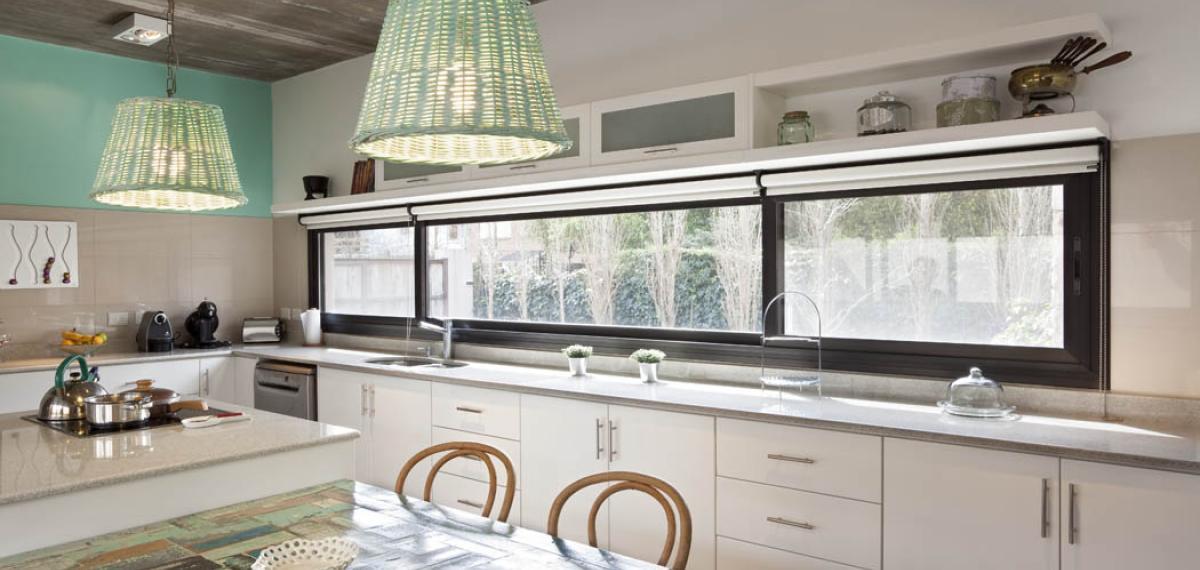 L nea m dena carpinter a de aluminio aberturas del pilar for Aberturas de aluminio puerta ventana