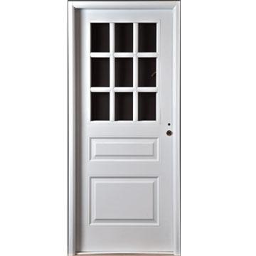 Precio puerta de chapa materiales de construcci n para - Puertas de chapa ...